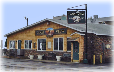 CanalView Cafe Sylvan Beach